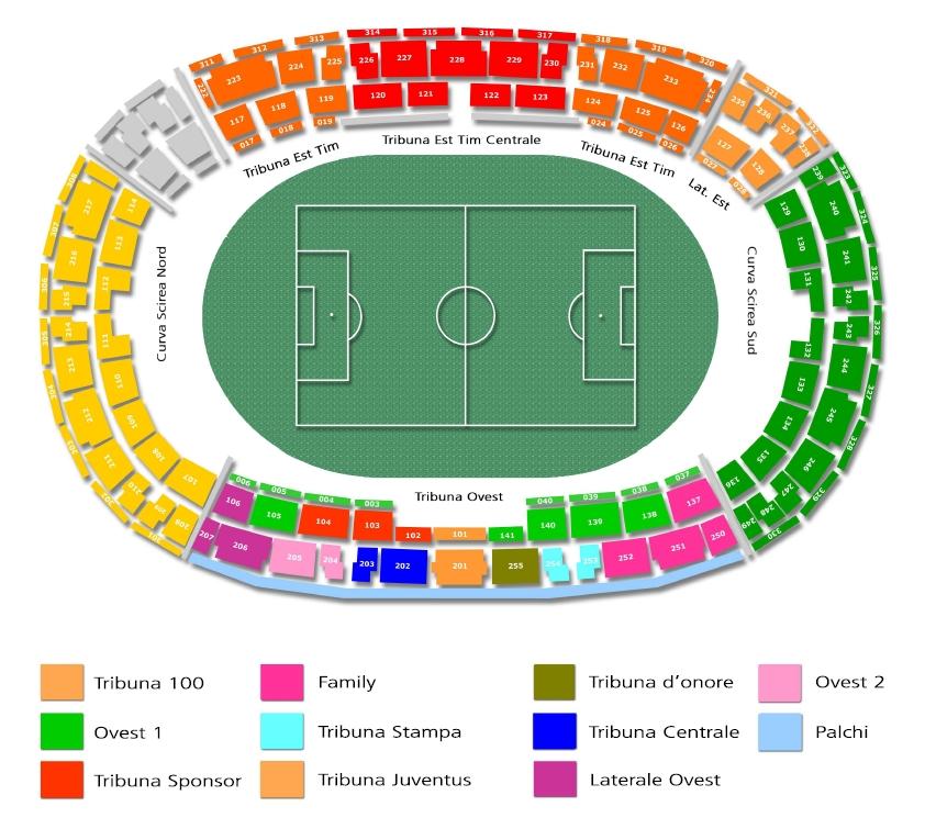 Cartina Stadio Olimpico Roma.Stadio Olimpico Di Torino Juventus Club Via Roma 52 31020 San Fior Tv