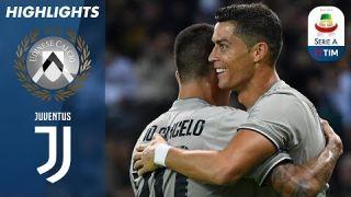 Udinese 0-2 Juventus | Il gol di Ronaldo porta la Juve alla vittoria! | Serie A