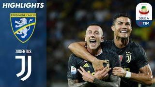 Frosinone 0-2 Juventus | Ronaldo e Bernardeschi In Gol. Quinta Vittoria Bianconera Di Fila | Serie A
